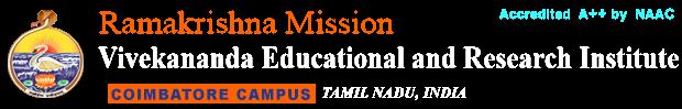 Ramakrishna Mission Vivekananda Educational and Research Institute (RKMVERI) – Deemed-to-be-University